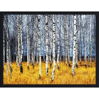"""Birch Trees 2"" Framed Plexiglass Wall Art"