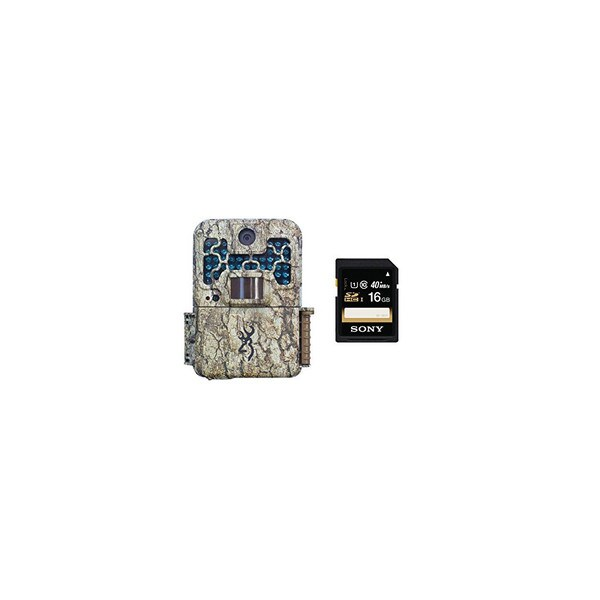 Browning Recon Force BTC7FHD Digital Trail Game Camera with 16GB Memory Card
