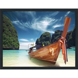 """Thailand"" Framed Plexiglass Wall Art"