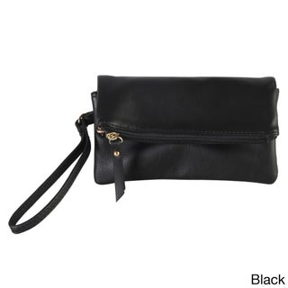 Diophy Faux-leather Bifold Wristlet (5 options available)