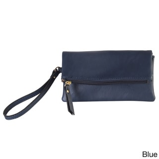 Diophy Faux-leather Bifold Wristlet