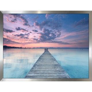 """Ocean Song"" Framed Plexiglass Wall Art"