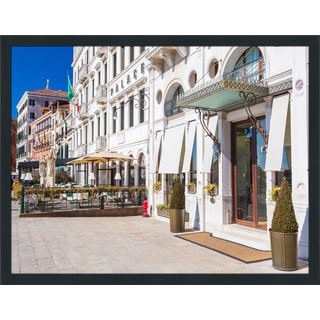 """Venice by Day"" Framed Plexiglass Wall Art"