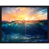 """Underwater 2"" Framed Plexiglass Wall Art"
