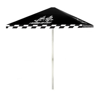 8-foot I Wanna Go Fast Patio Umbrella by Best of Times