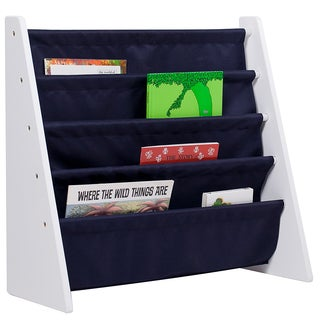 Levels of Discovery Sling White/Blue Book Shelf
