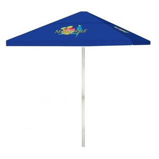 8-foot Margaritaville Patio Square Umbrella by Best of Times