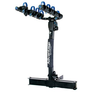 Advantage SportsRack GlideAway Elite 4 Black Steel Bike Rack