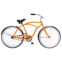 Docksider Orange Single-Speed Wheel Beach Cruiser Bicycle (26 in.)