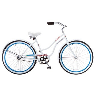 Docksider Women's Blue Beach Cruiser Bicycle (17 in.)
