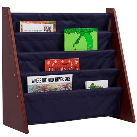 Levels of Discovery Cherry with Blue Sling Book Shelf