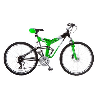 Titan Glacier Pro Men's Neon Green All-Terrain Mountain Bicycle (26 in.)