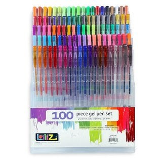 LolliZ Multicolor Plastic Gel Pens (Case of 100)