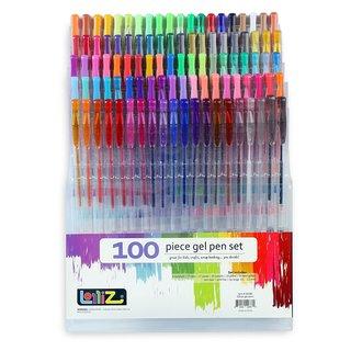 LolliZ Multicolor Plastic Gel Pens (Case of 100)