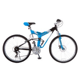 Titan Glacier-Pro Men's Blue All-Terrain Mountain Bicycle