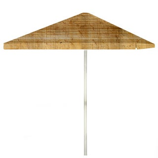 8-foot Particle Board Patio Umbrella by Best of Times
