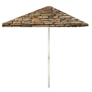 8-foot Rock Wall Patio Umbrella by Best of Times