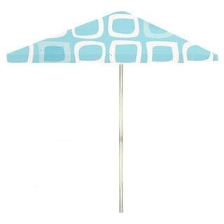 8-foot It's A Boy Patio Square Umbrella by Best of Times