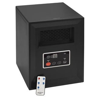 Portable Infrared Quartz Space Heater with Remote/Timer