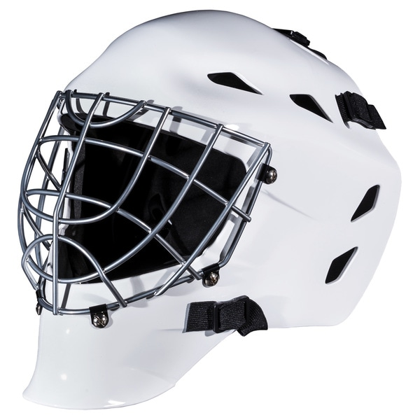 Franklin GFM 1500 White Street Hockey Goalie Face Mask (Ages 6-12)