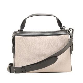 Michael Kors Ingrid Medium Cement Shoulder Handbag