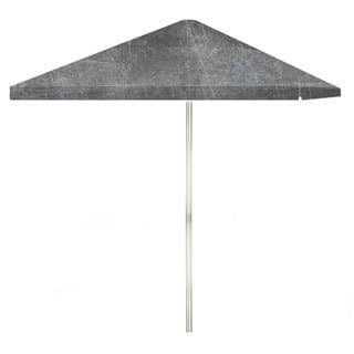8-foot Garage Metal Patio Square Umbrella by Best of Times