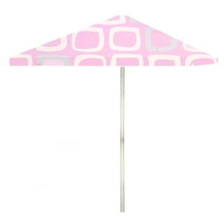 8-foot It's A Girl Patio Umbrella by Best of Times