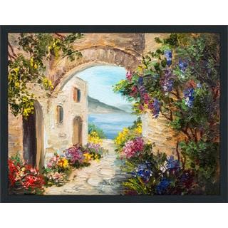 """European Vista 3"" Framed Plexiglass Wall Art"