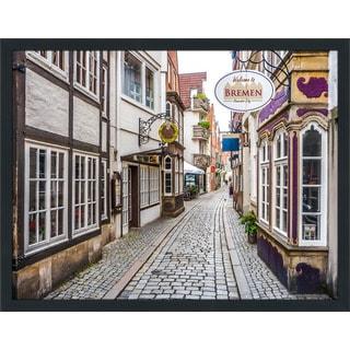 """Bremen"" Framed Plexiglass Wall Art"