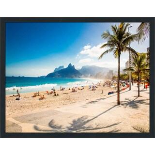 """""""Rio de Janeiro. Brazil."""" Framed Plexiglass Wall Art"""