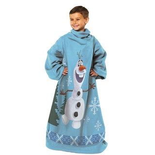 Frozen 'Made of Snow' Olaf Fleece Throw