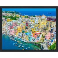 """Napoli"" Framed Plexiglass Wall Art"