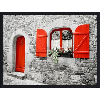 """""""The Red Door"""" Framed Plexiglass Wall Art (2 options available)"""