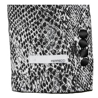 Ferrecci Men's Snakeskin Style Shawl Collar Tuxedo Blazer