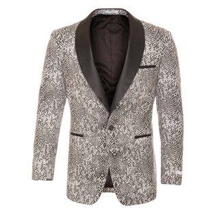 Ferrecci Men's Snakeskin Style Shawl Collar Tuxedo Blazer|https://ak1.ostkcdn.com/images/products/13393497/P20090506.jpg?_ostk_perf_=percv&impolicy=medium