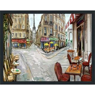 """Day in Paris"" Framed Plexiglass Wall Art"