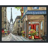 """""""Paris Belongs to Us"""" Framed Plexiglass Wall Art"""