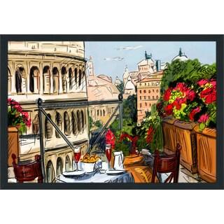 """Rome, Italy"" Framed Plexiglass Wall Art"