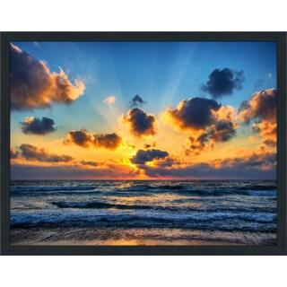 """Hazy Reflections 4"" Framed Plexiglass Wall Art"