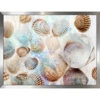 """Shells 1"" Framed Plexiglass Wall Art"