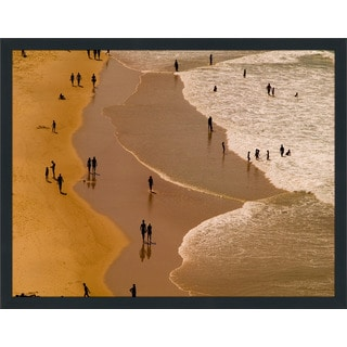 """Beach Please I"" Framed Plexiglass Wall Art"