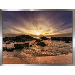 """""""Stunning Sun Dog Beach"""" Framed Plexiglass Wall Art"""