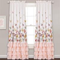 Madison Park Joycelyn Cotton Oversized Ruffle Curtain