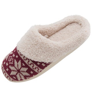 Wonen's HomeTop by Dasein Faux Suede Slippers