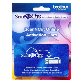 ScanNcut Online Activation Card
