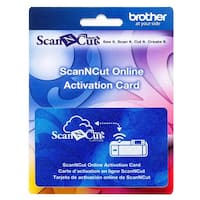 Brother ScanNcut Online Activation Card