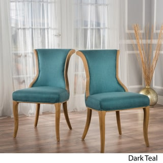 Lexia Fabric Dining Chair (Set of 2) by Christopher Knight Home