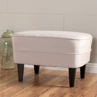 Spiro Fabric Ottoman by Christopher Knight Home
