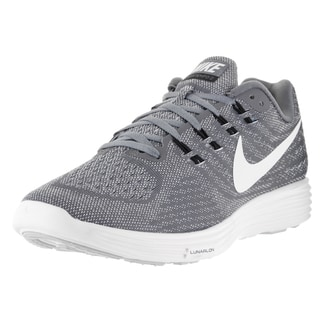 Nike Men's Lunartempo 2 Cool Grey/White/Pr Pltnm/Blk Running Shoe