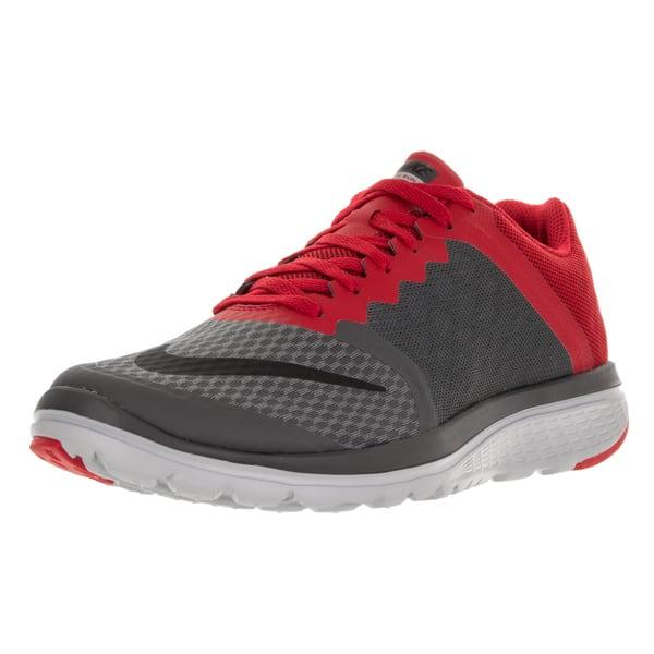 quality design 110be 8d620 Shop Nike Men's FS Lite Run 3 Drk Grey/Black/University Red ...